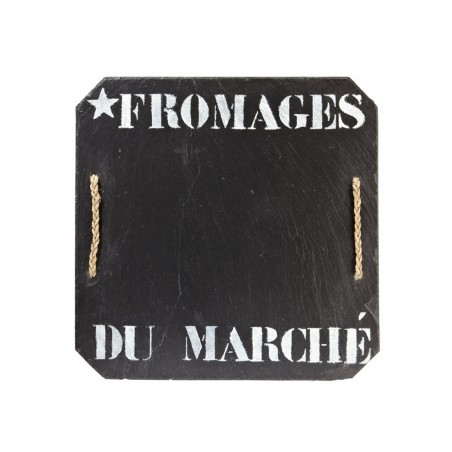PLATEAU A FROMAGES ARDOISE