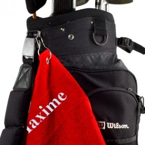 serviette-de-golf-personnalisee