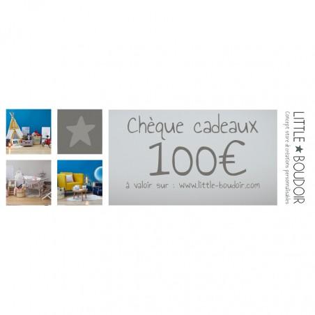 CHEQUE CADEAU 100 €