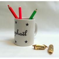 Mug étoile personnalisé