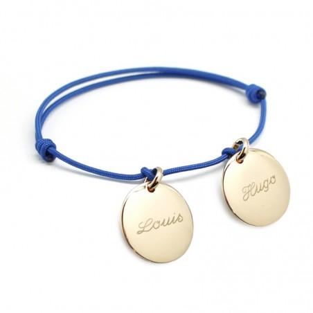 Bracelet personnalisé - Petits Trésors Plaqué or