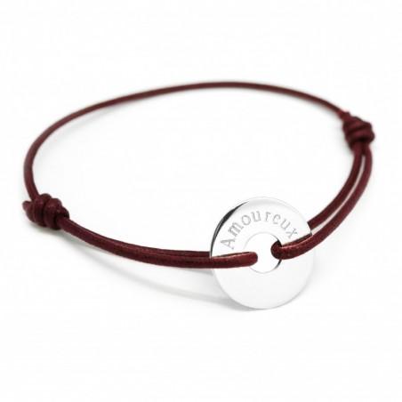 Bracelet personnalisé - Mon Chéri Argent