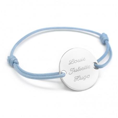 Bracelet personnalisé - Family Argent