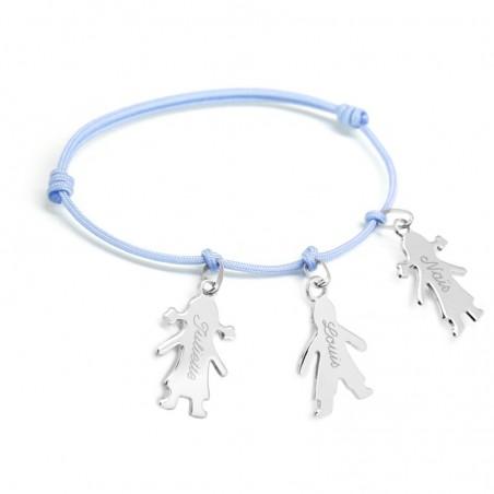 Bracelet personnalisé - Chérubin Argent