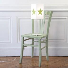 lampe-applique-paillettes-vert