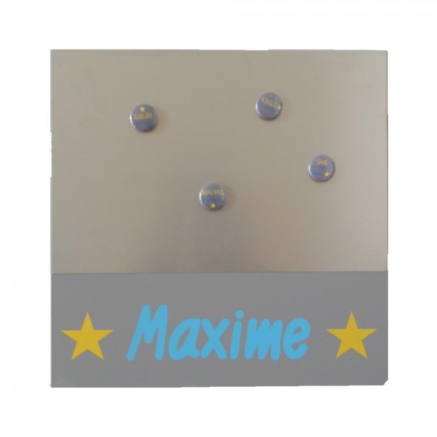 tableau-magnetique-personnalisable-bleu