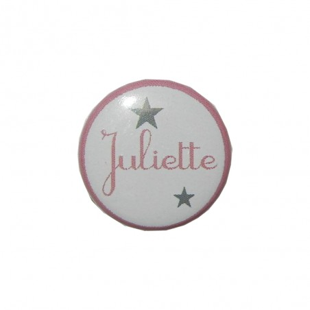 MAGNET / BADGE PERSONNALISE - PRENOM