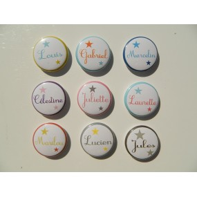 MAGNET / BADGE PERSONNALISE...