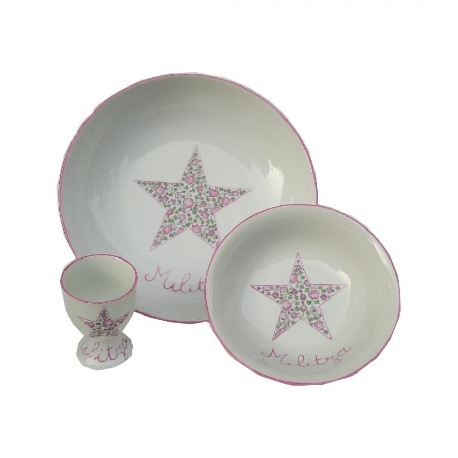 service-assiette-porcelaine-etoile-liberty-personnalise