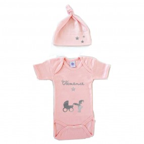 bonnet-body-rose-personnalise-prenom