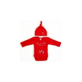 bonnet-body-personnalise-prenom-rouge