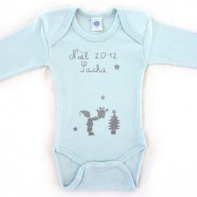 Body bébé personnalisé -...