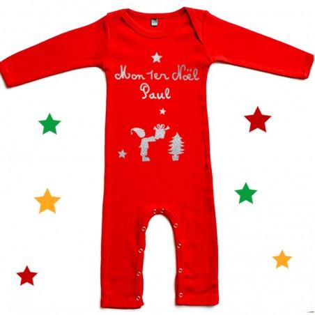 Pyjama noel personnalisé