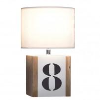 LAMPE A POSER EN CHENE...