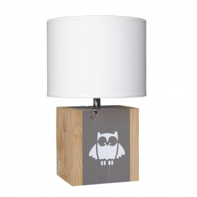 lampe-a-poser-chene-enfant-taupe