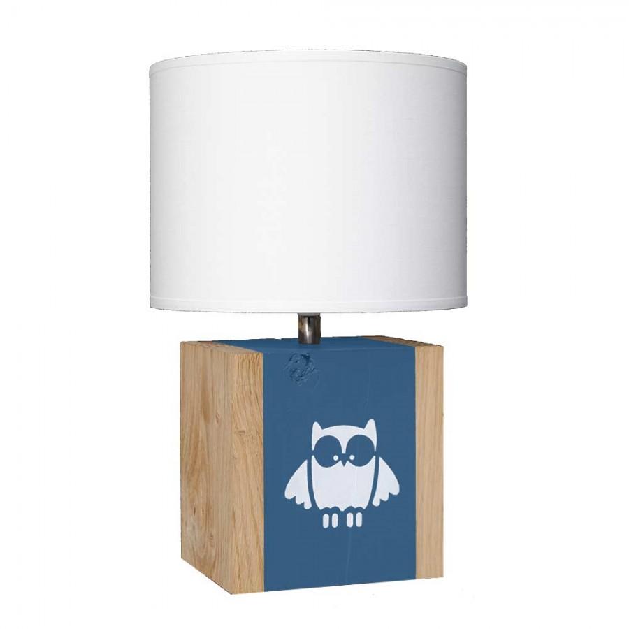 lampe-a-poser-chene-enfant-etoile-bleu-nuit
