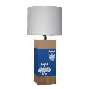 lampe-a-poser-chene-hibou-bleu-nuit