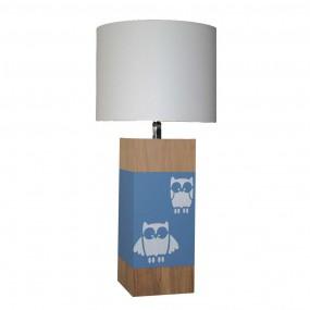 lampe-a-poser-chene-hibou-gris-bleu