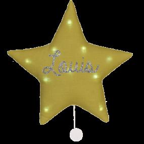 veilleuse-musicale-etoile-lin-personnalisee-prenom-cadeau-de-naissance-personnalise