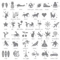 Planche motifs