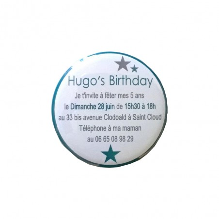 MAGNETS INVITATION ANNIVERSAIRE