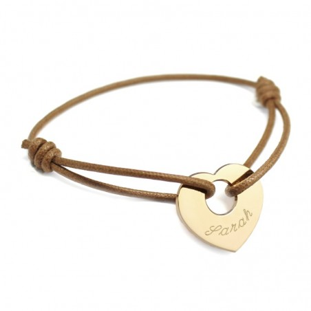 Bracelet personnalisé - A cœur de Peau