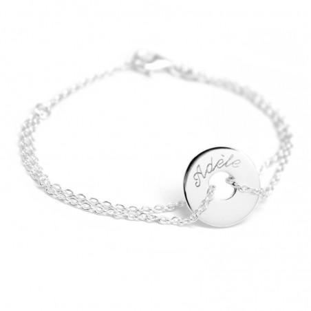 Bracelet personnalisé - Poème