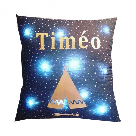 COUSSIN LUMINEUX PERSONNALISABLE