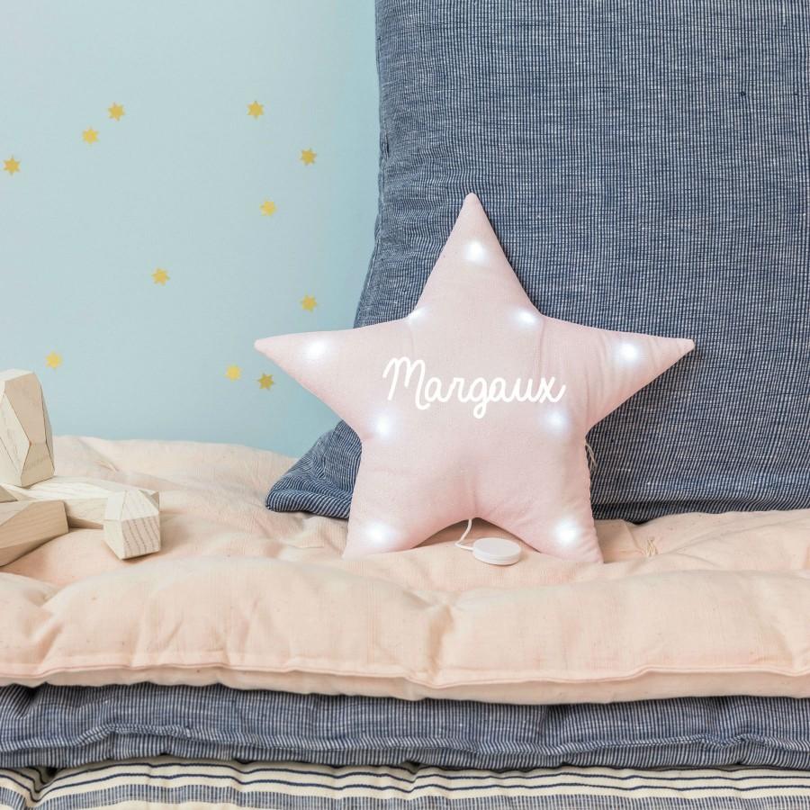 veilleuse-musciale-etoile-rose-paillettes-personnalise-bebe-cadeau-personnalise