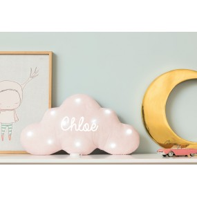 veilleuse-musicale-nuage-rose-pale-paillettes-prenom-texte-personnalisable-bleu