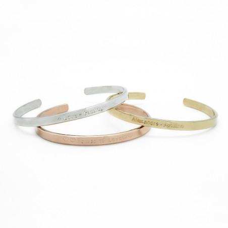Bracelet personnalisé - Jonc Solo