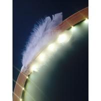 lampe-scandinave-plumes-personnsalisable-bois-brut-decoration-maison-jardin