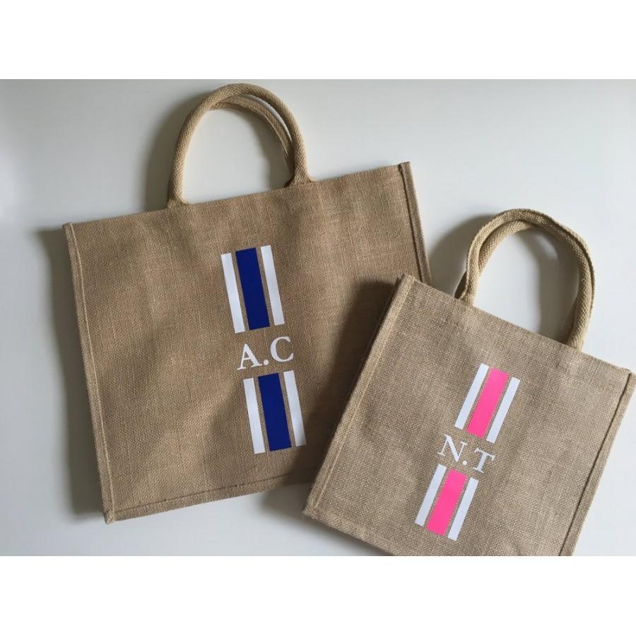 cabas-de-plage-jute-initiale-soleil-sable-fun-ete-cadeau-détente-cadeau-personnsalisable-couleur-sac
