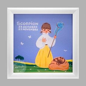 cadre-scorpion-fille