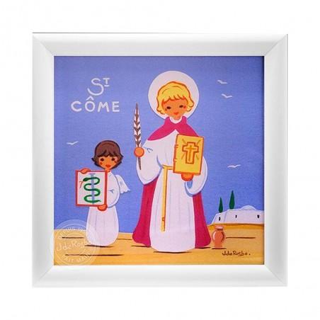Cadre saint patron personnalisé - Garçon