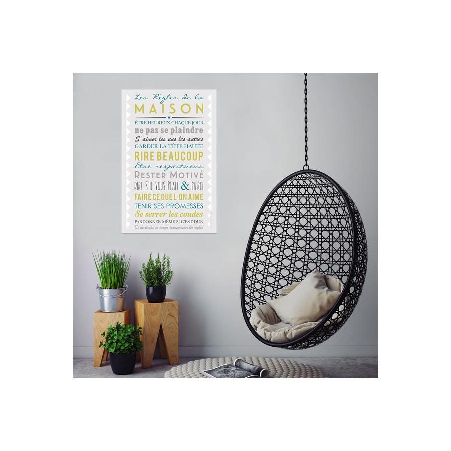 affiche-personnalise-regles-de-la-maison-gris-clair