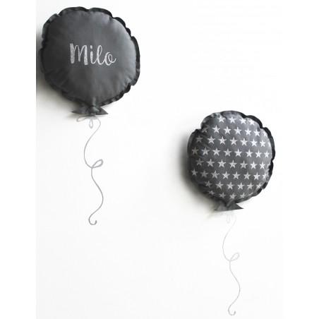 Duo de coussins ballons personnalisés