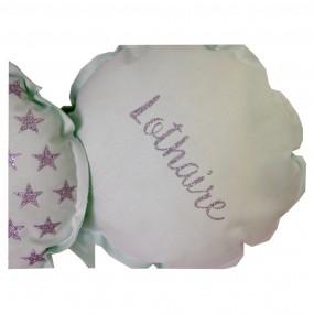 duo-coussins-ballons-prenom-personnalisé-naissance-prenom-vert-menthe-cadeau-de-naissance