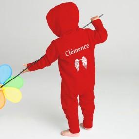 Combinaison-bebe-personnalise-prenom-motif-coton-sweat-made-in-france
