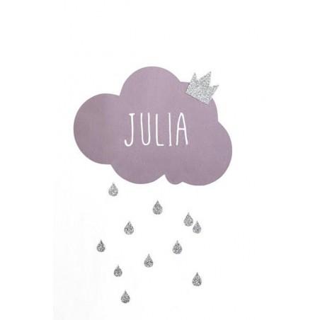 Sticker nuage personnalisé