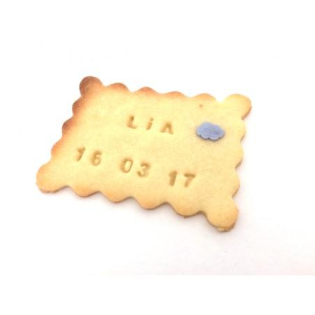 Biscuit personnalisé baptême