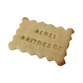 Biscuit personnalisé Maîtresse