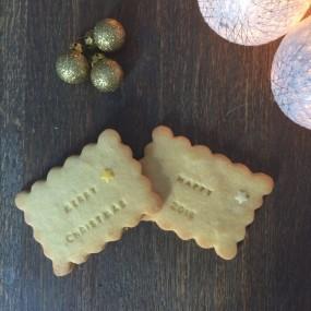 Biscuit personnalisé Noël