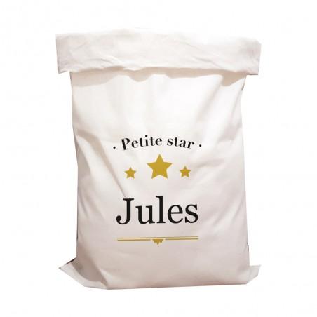 """Sac de rangement personnalisé - Modèle """"Petite star"""""""