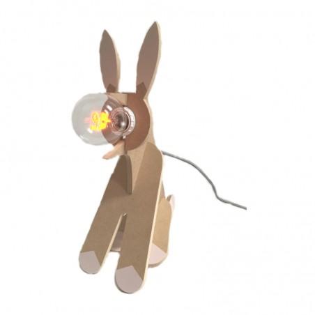 Lampe lapin personnalisée