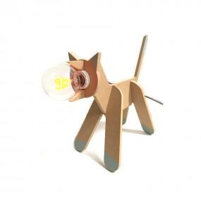 Lampe chat personnalisée
