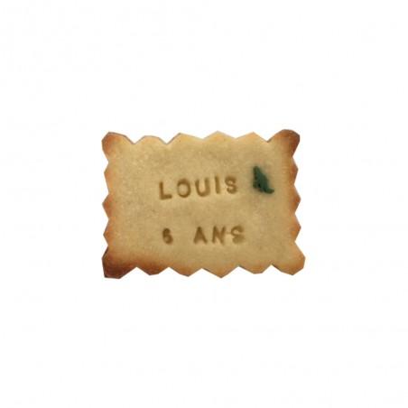 Biscuit personnalisé anniversaire