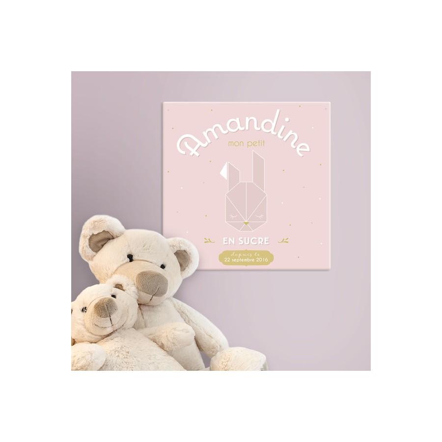 tableau-canvas-bebe-personnalise-rose-pale-prenom-date-de-naissance-deco-chambre-bebe-personnalise-cadeau-de naissance-fille-per
