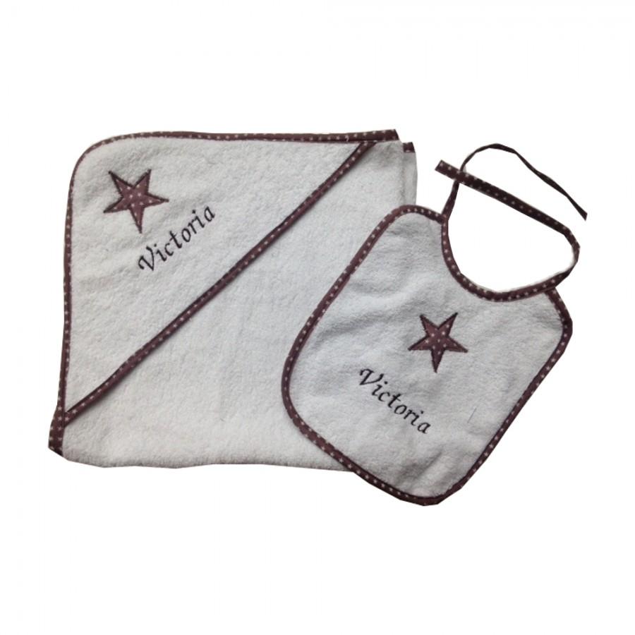 Sortie-de-bain-bebe-personnalisee-eponge-made-in-france-cadeau-naissance-etoiles