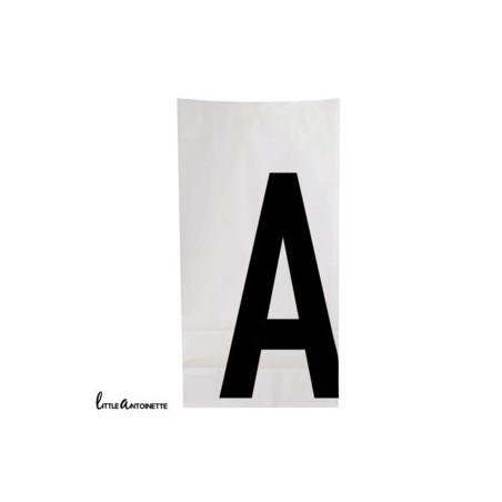 Paper bag personnalisé - Modèle lettre